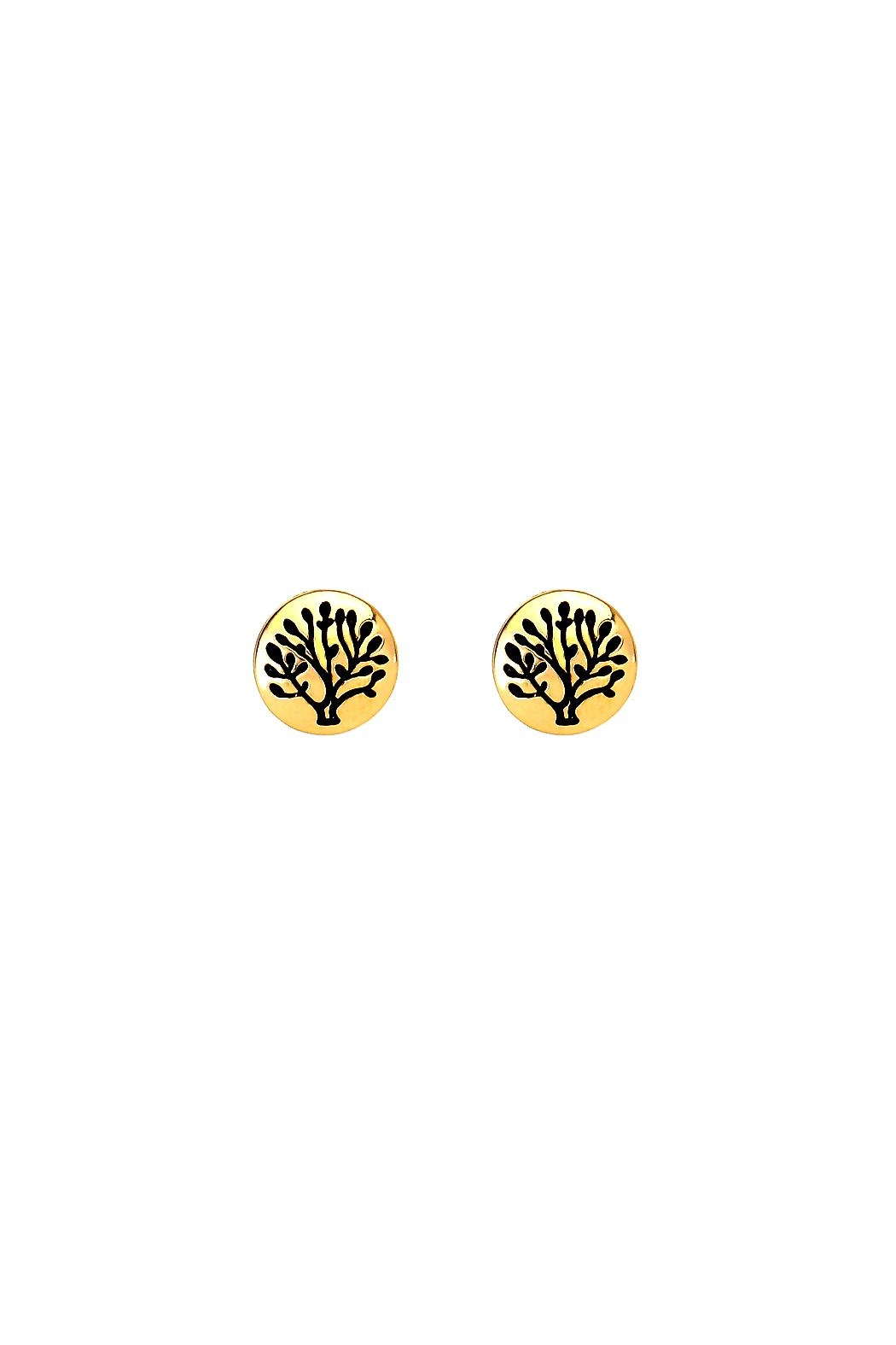 Wild Lilies Jewelry  Tree Stud Earrings - Main Image