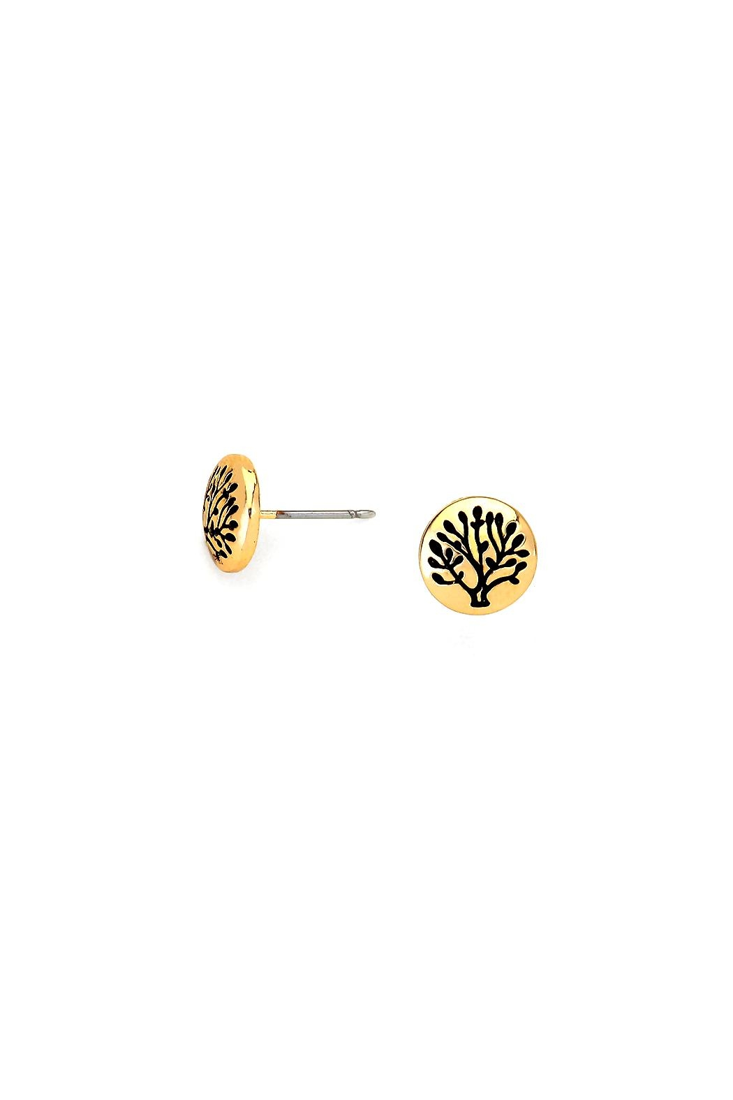 Wild Lilies Jewelry  Tree Stud Earrings - Front Full Image