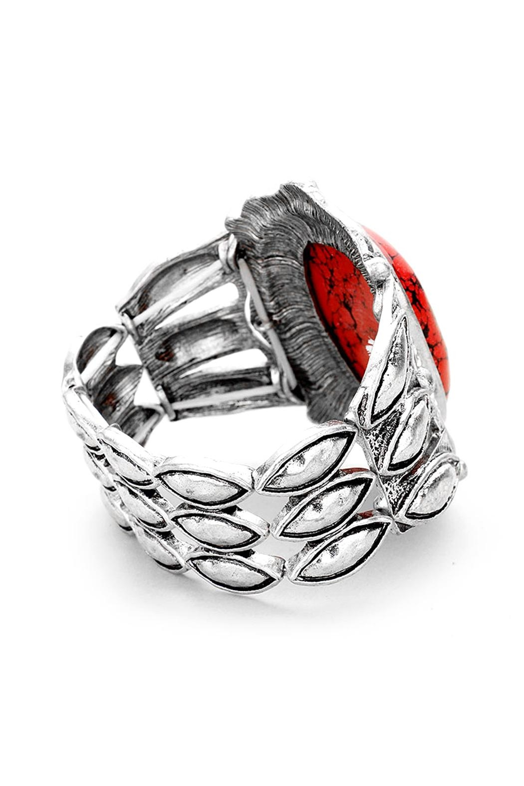 Wild Lilies Jewelry  Tribal Coral Bracelet - Front Full Image