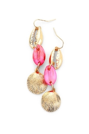 Wild Lilies Jewelry  Triple Shell Earrings - Product Mini Image