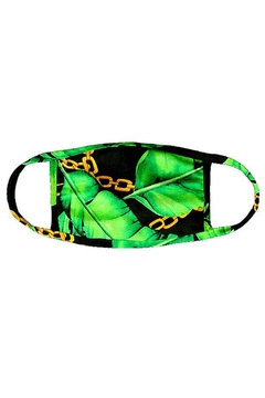 Wild Lilies Jewelry  Tropical Face Mask - Alternate List Image
