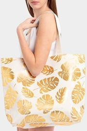 Wild Lilies Jewelry  Tropical Leaf Tote - Product Mini Image