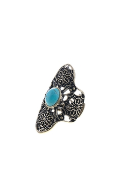 Wild Lilies Jewelry  Turquoise Boho Ring - Product List Image