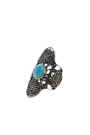 Wild Lilies Jewelry  Turquoise Boho Ring - Product Mini Image