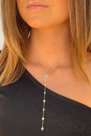Wild Lilies Jewelry  Turquoise Lariat Necklace - Product Mini Image