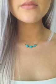 Wild Lilies Jewelry  Turquoise Nugget Necklace - Product Mini Image