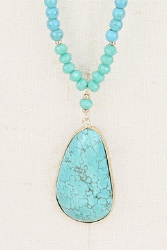 Wild Lilies Jewelry  Turquoise Pendant Necklace - Alternate List Image
