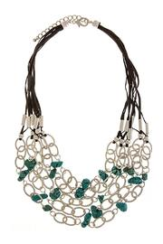 Wild Lilies Jewelry  Turquoise Statement Necklace - Product Mini Image