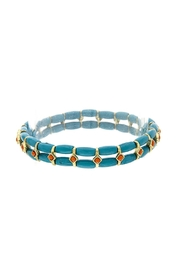 Wild Lilies Jewelry  Turquoise Stretch Bracelet - Product Mini Image