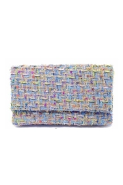 Wild Lilies Jewelry  Tweed Clutch Bag - Product Mini Image