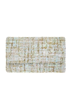 Wild Lilies Jewelry  Tweed Envelope Clutch - Product List Image