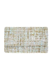Wild Lilies Jewelry  Tweed Envelope Clutch - Product Mini Image