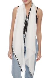 Wild Lilies Jewelry  Two-Tone Fringe Scarf - Product Mini Image