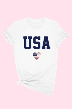 Wild Lilies Jewelry  Usa Tee Shirt - Alternate List Image