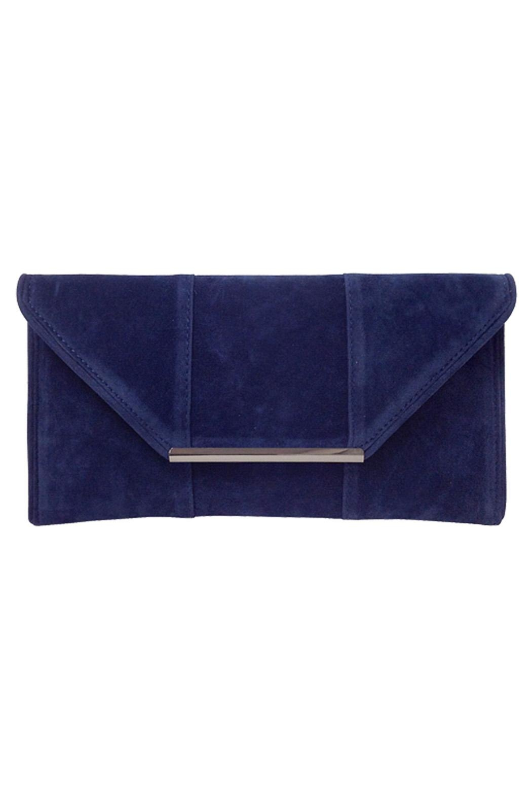 Wild Lilies Jewelry  Velvet Envelope Clutch - Front Cropped Image