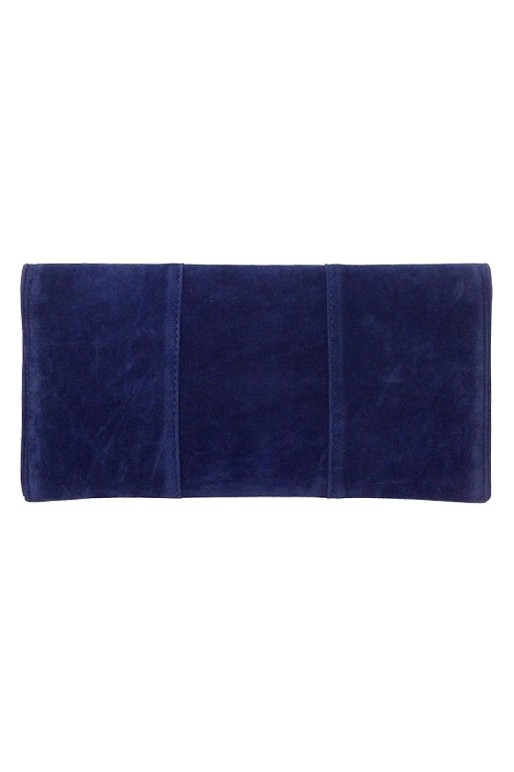 Wild Lilies Jewelry  Velvet Envelope Clutch - Front Full Image
