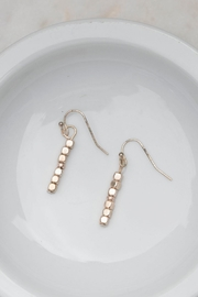 Wild Lilies Jewelry  Vertical Beaded Earrings - Product Mini Image