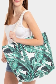 Wild Lilies Jewelry  White Palm Tote - Product Mini Image