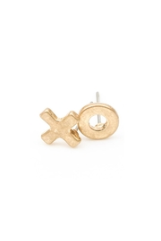 Wild Lilies Jewelry  Xo Stud Earrings - Front cropped