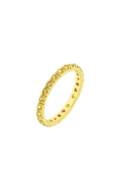 Shoptiques Product: Yellow Crystal Ring