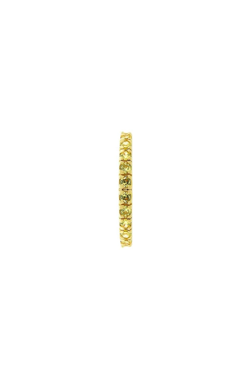 Wild Lilies Jewelry  Yellow Crystal Ring - Side Cropped Image