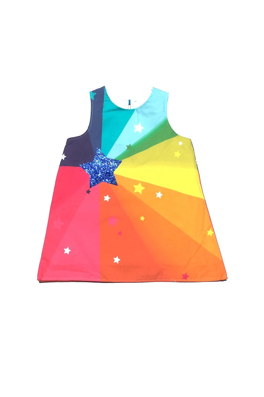 Wild Things Glitter Disco Dress - Front Cropped Image