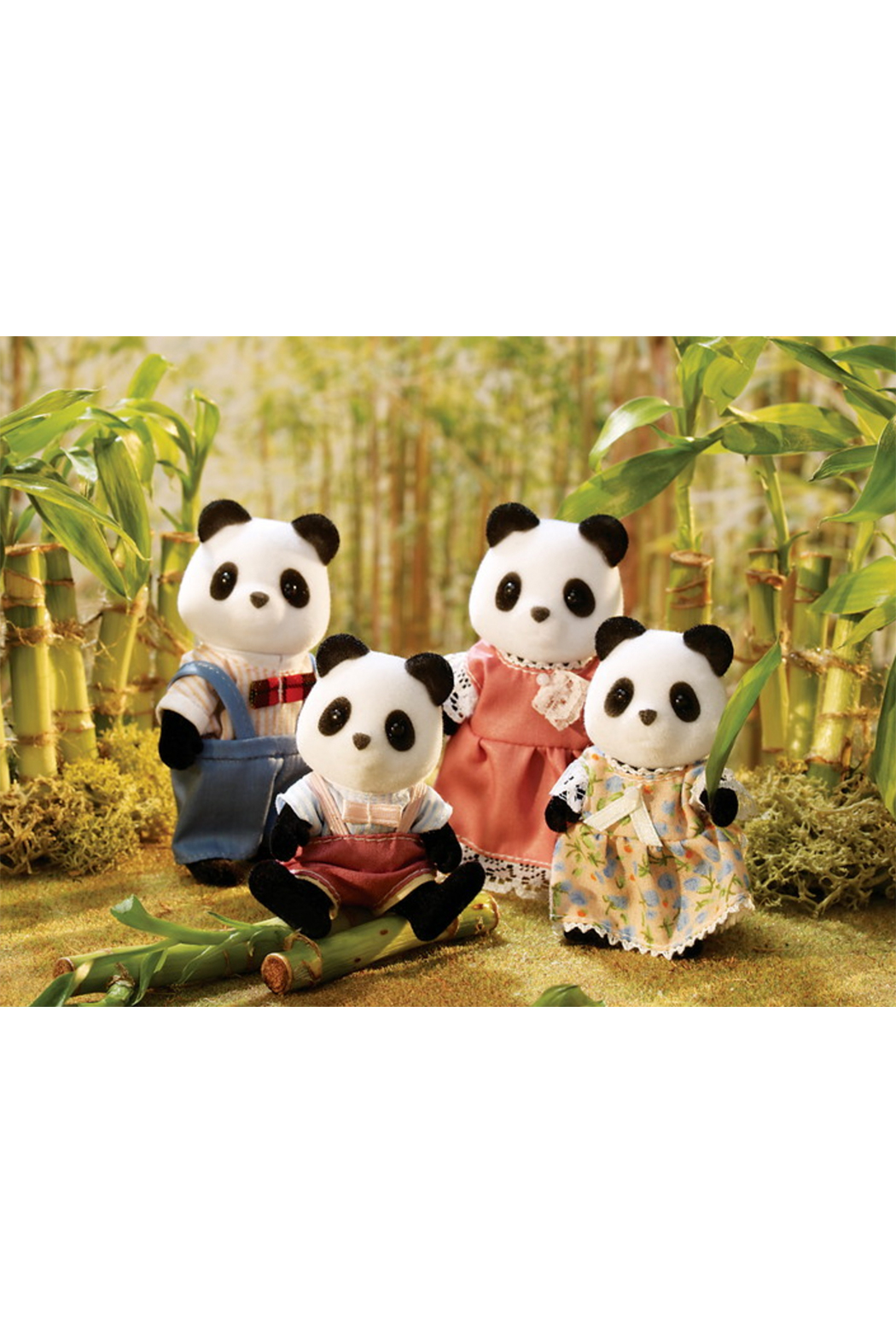 Calico Critters Wilder Panda Family - Front Full Image