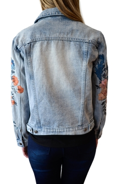 MinkPink Wildflower Denim Jacket - Alternate List Image