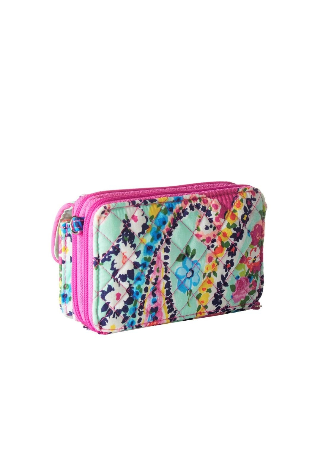 Vera Bradley Wildflower Paisley All-In-One - Front Full Image