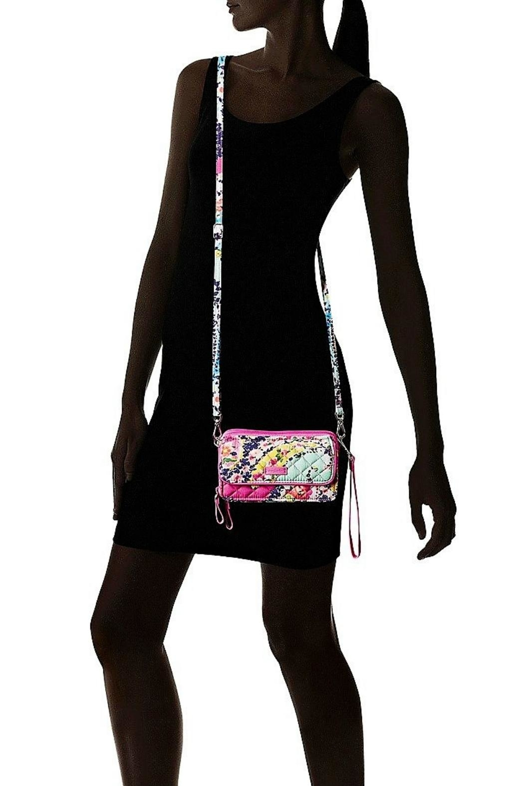 Vera Bradley Wildflower Paisley All-In-One - Back Cropped Image