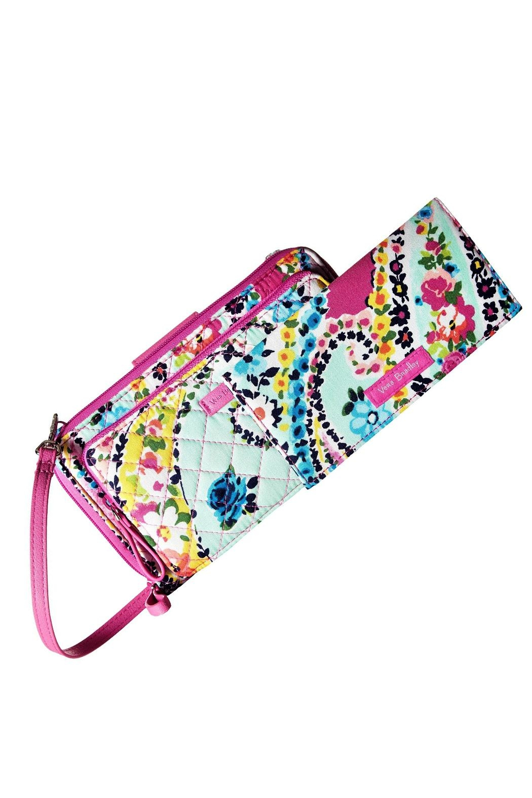 Vera Bradley Wildflower Paisley All-Together - Back Cropped Image