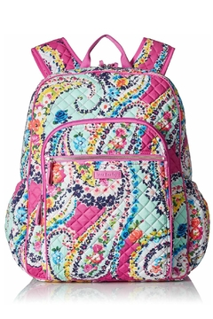 ... Vera Bradley Wildflower Paisley Campus-Backpack - Product List Image e580dd41c0edf