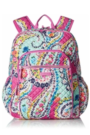 Vera Bradley Wildflower Paisley Campus-Backpack - Front cropped