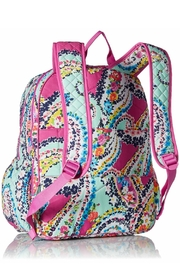 Vera Bradley Wildflower Paisley Campus-Backpack - Front full body