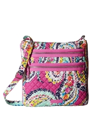 Vera Bradley Wildflower Paisley Triple-Zip - Product Mini Image