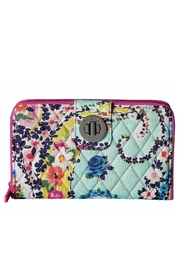 Vera Bradley Wildflower Paisley Turnlock - Product Mini Image