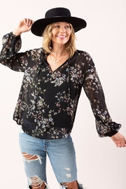 Lovestitch Wildflower Peasant Blouse - Product Mini Image