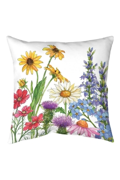 Shoptiques Product: Wildflower Pillow