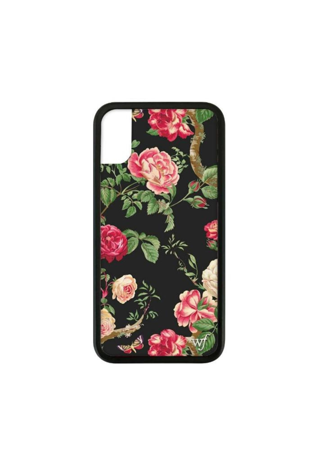 Wildflower Cases Black-Floral Iphone 6+,7+,8+ - Main Image