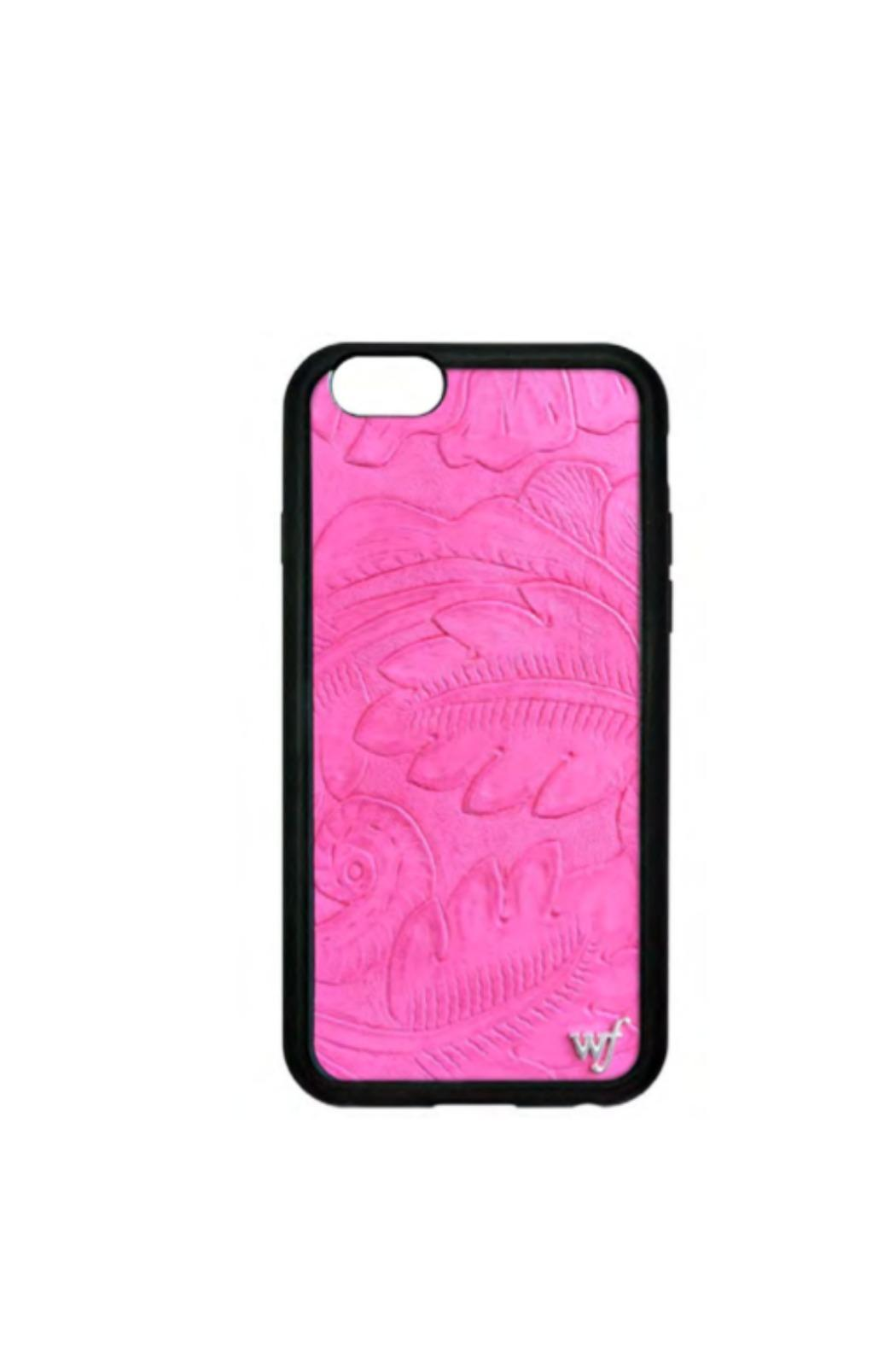 Wildflower Cases Pink Leather Iphone6+ - Main Image