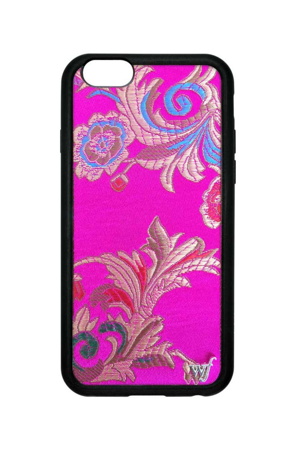 Wildflowers Brocade 6plus/6s Case - Front Cropped Image