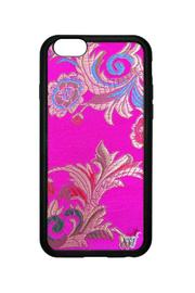 Wildflowers Brocade 6plus/6s Case - Front cropped