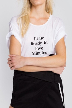 Wildfox 5 Minute Shirt - Product List Image