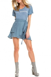 Wildfox 7-Day Weekend Tee - Front full body
