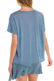 Wildfox 7-Day Weekend Tee - Back cropped