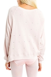 Wildfox All-Over-Glitz Sweatshirt - Side cropped