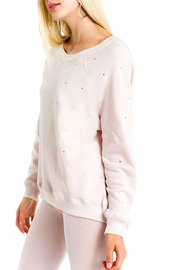 Wildfox All-Over-Glitz Sweatshirt - Front full body