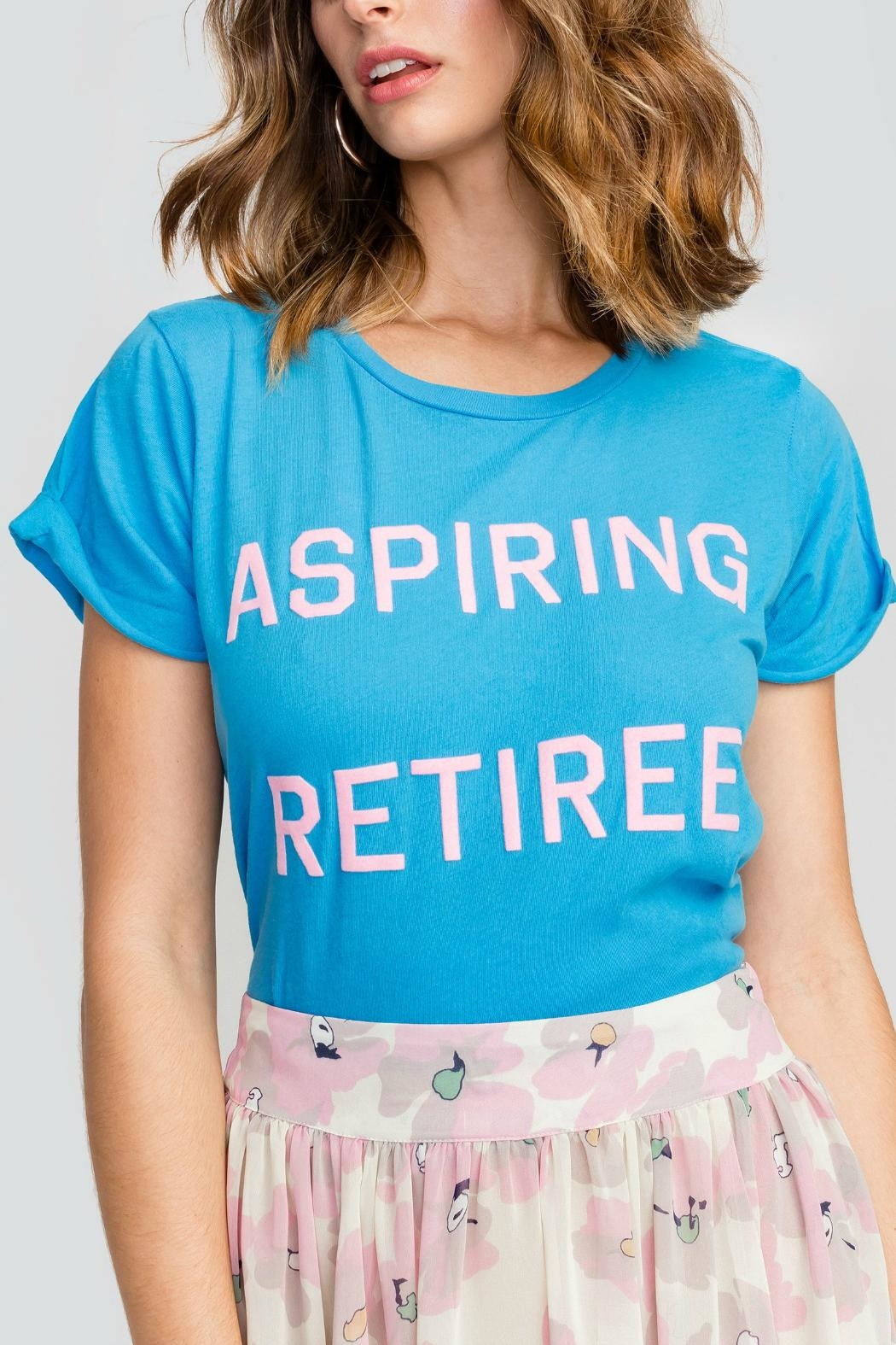 Wildfox Aspiring Retiree Tee - Front Cropped Image