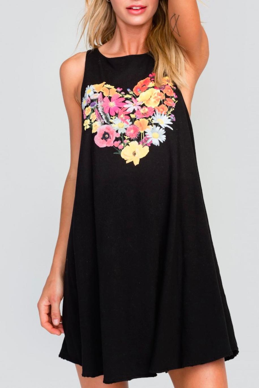 Wildfox Cassidy Floral Dress - Side Cropped Image