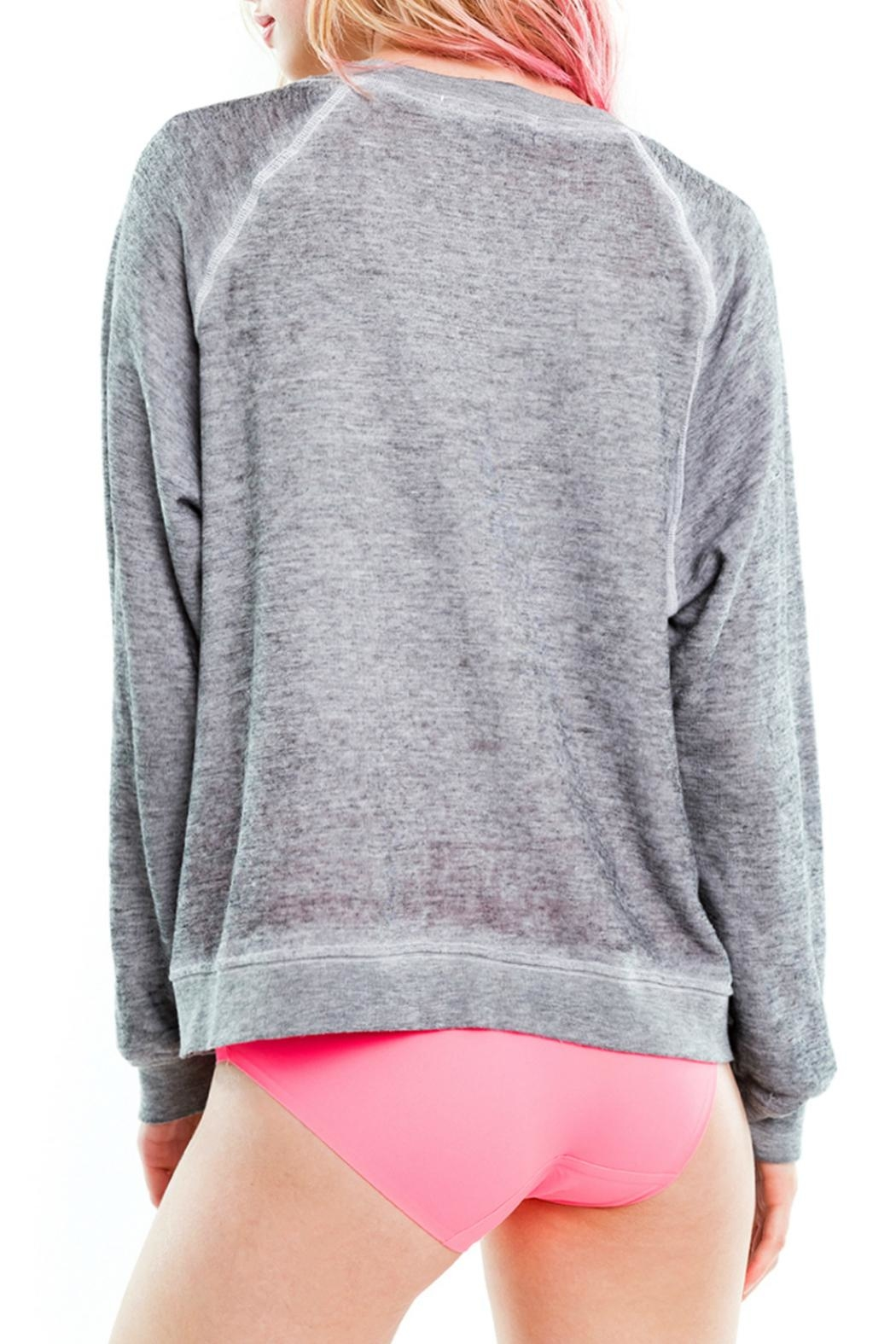 Wildfox Cat Mom Sweatshirt - Side Cropped Image